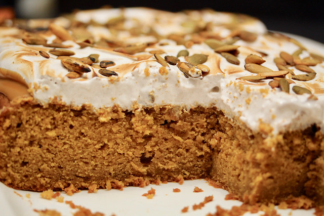 Pumpkin & Cookie Butter Sheet Cake - 40