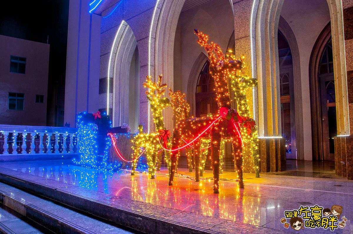 鳳山最美教堂聖誕景點-12