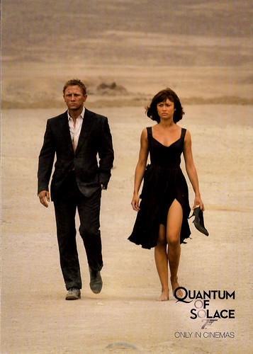 Daniel Craig and  Olga Kurylenko in Quantum of Solace (2008)