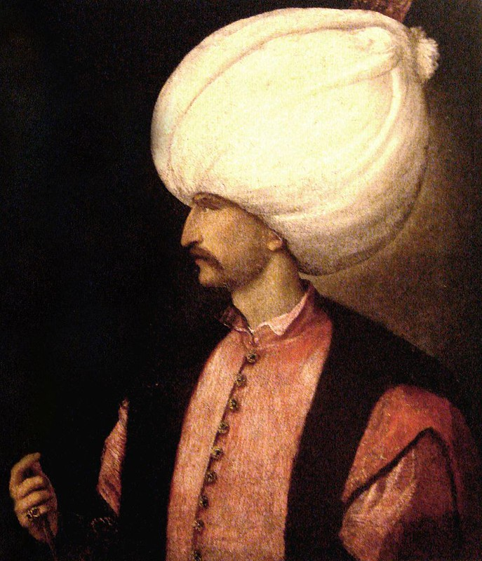 Portrait of Suleiman the Magnificent, by Titian