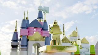 Disneyland Microscale by Carlierti, render by Steven Reid