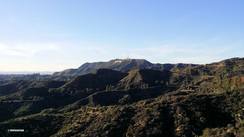 Hollywood-kyltti, Griffith Observatory, Los Angeles, Kalifornia, USA