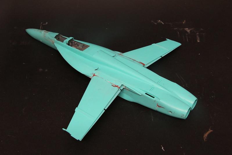 "Montage du F/A-18F ""The Idolmaster"",  1/48 38195886665_9602b13d3d_c"