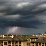 4. Juuli 2017 - 9:56 - Severe thunderstorm - Orage violent - 04/07/2017 - Hangzhou (China)