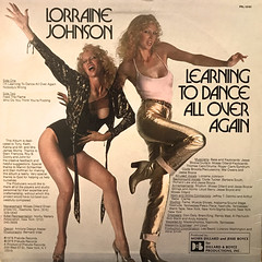 LORRAINE JOHNSON:LEARNING TO DANCE ALL OVER AGAIN(JACKET B)