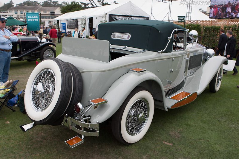 1930 Isotta Fraschini 8A S Castagna Cabriolet