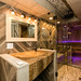 Bathroom with multi jet shower and sauna.