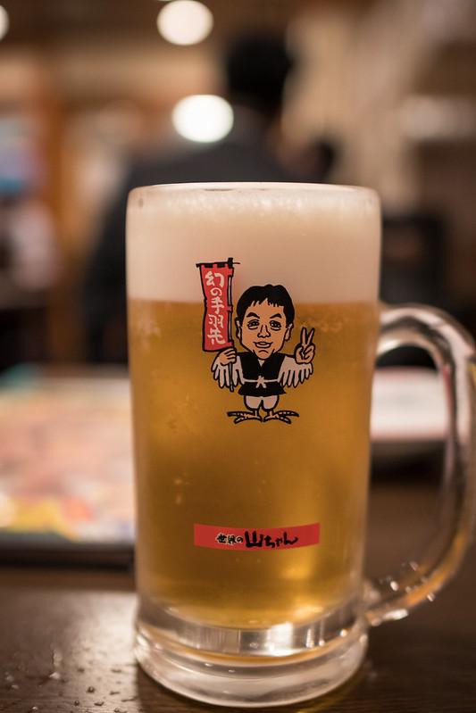 世界の山ちゃんのビールはサントリー ザ・モルツ