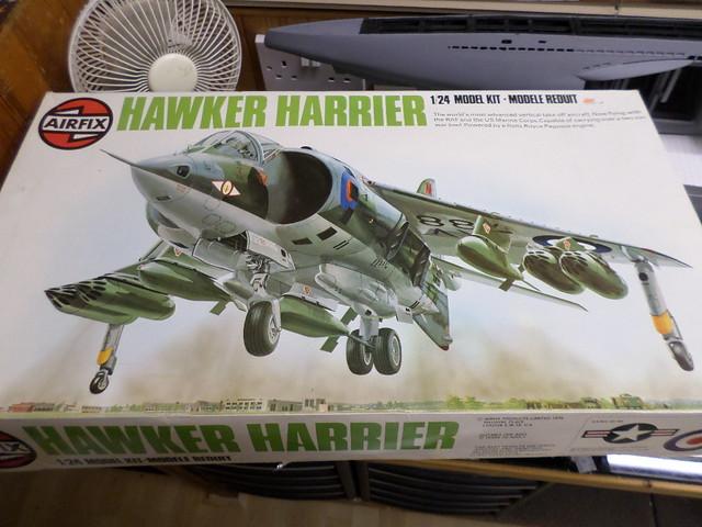 Partwork Models Forum View Topic Airfix 124 Harrier