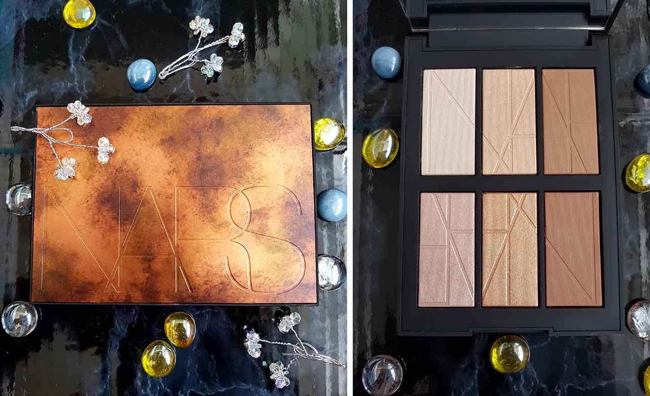 Summer's Gone But Not Forgotten - My Summer Bronze Haul: Nars Bord De Plage Highlighting and Bronzing Palette - This palette is the pièce de résistance of this blog post! When I saw this palette for the first time online I was in love! I promptly paid a visit to the nearest Nars counter I could find and tested the 6 shades and I was hooked. I bought it there and then and over the Summer it has been my staple bronzer, highlighter and contour palette. All the powders are silky soft and so pigmented and they blend into the skin perfectly. You can see from the swatches below how lovely the shades are and the collection would suit virtually every skin tone. If you haven't seen or tried this palette you really should – you'll fall in love with it like I have!