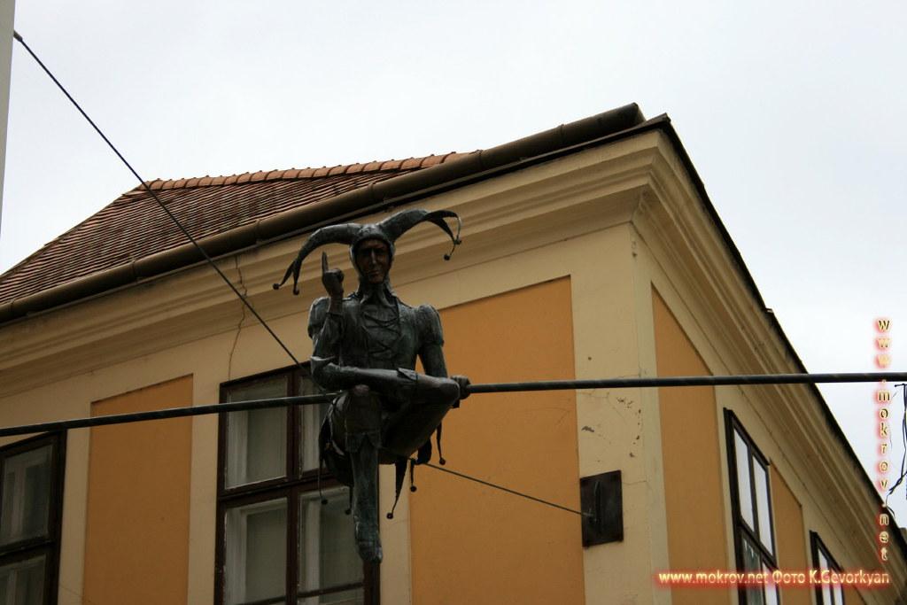 Секешфехервар — город в Венгрии фотозарисовки