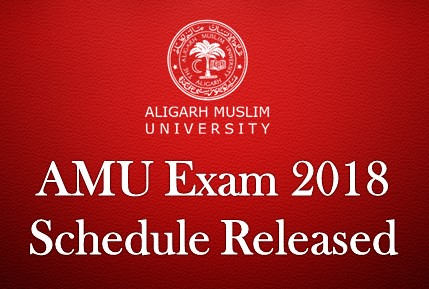 Amu Exam 2018 Schedule Released