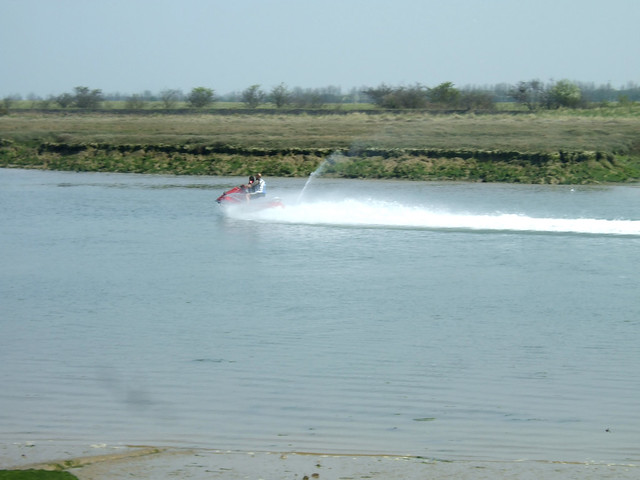 Jetski in Mayland Creek