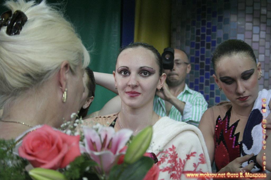 Сборная команда России по синхронному плаванию в портретах.