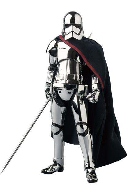 唉唷!盔甲很亮噢~MAFEX《STAR WARS:最後的絕地武士》法斯瑪隊長 Captain Phasma(THE LAST JEDI Ver.)【日本地區限定發行】