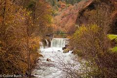 A hydroelectric dam