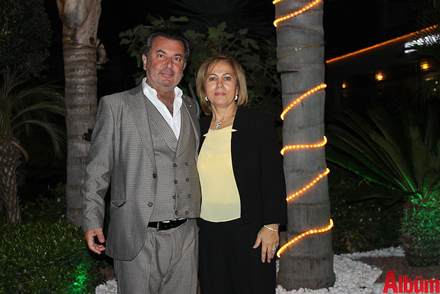 Suat Çavuşoğlu ve eşi Nuran Çavuşoğlu