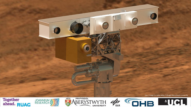Computer visualizations key to ExoMars rover development
