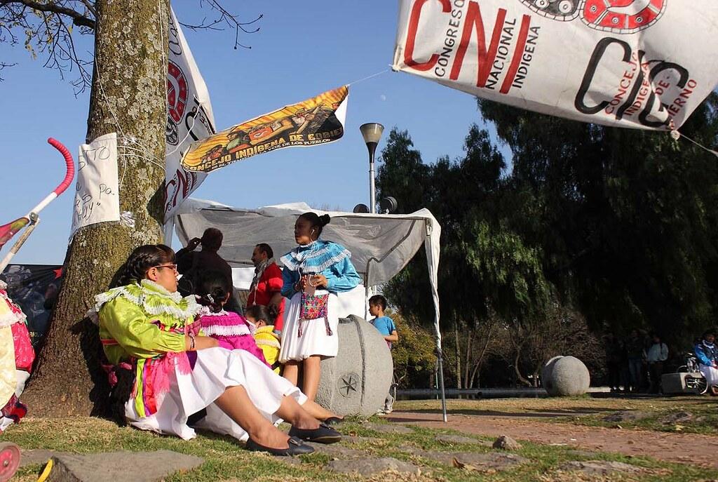 Marichuy en la UNAM Foto: Marcelo Ceron/Somoselmedio.org