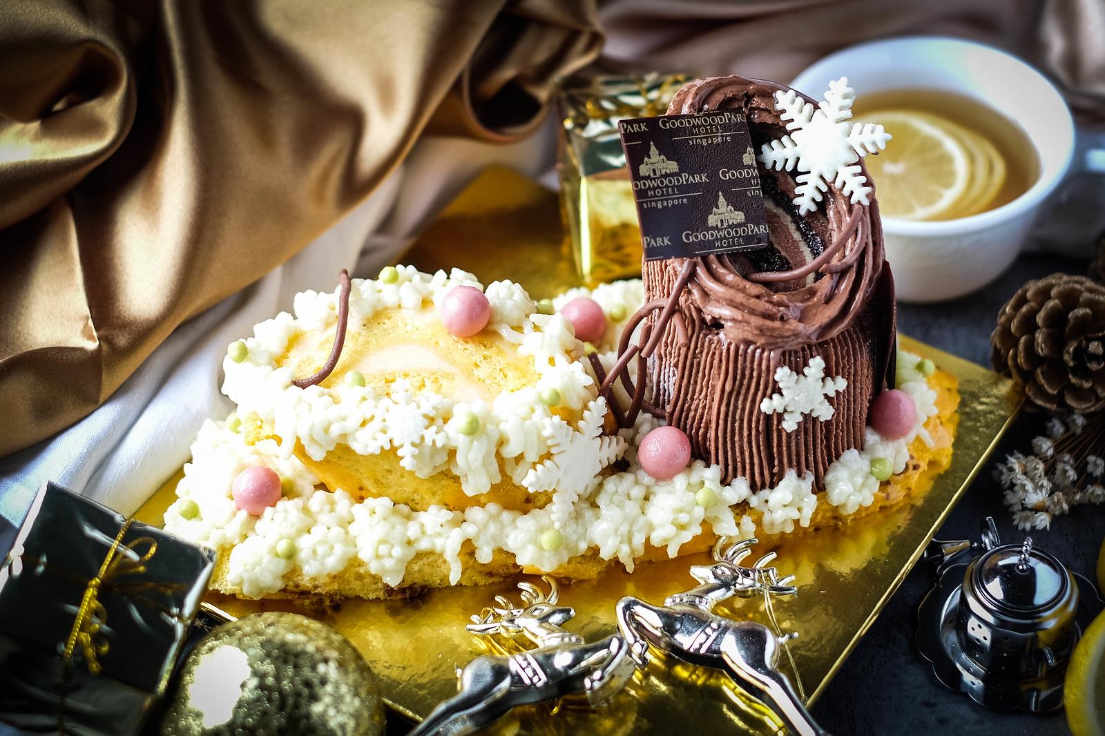 Christmas Log Cakes: Goodwoodpark
