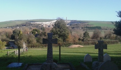 View from Coombes Church