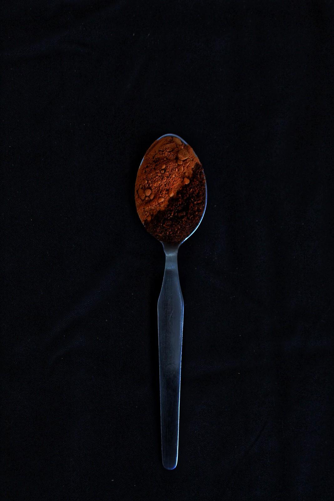 granola de laranja e alfarroba
