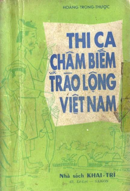Thi Ca Châm Biếm và Trào Lộng Việt Nam - Hoàng Trọng Thược