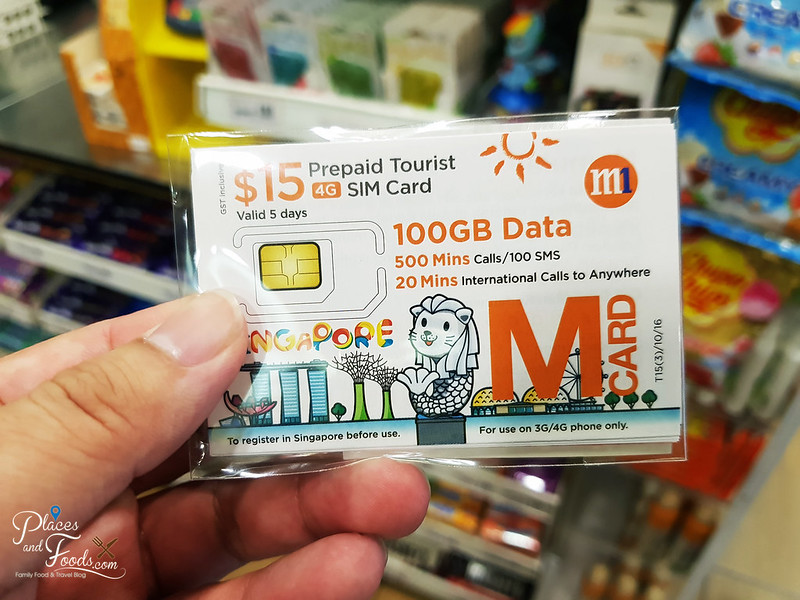 singapore tourist SIM Card
