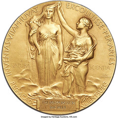 Purported Mommsen Nobel Prize Medal