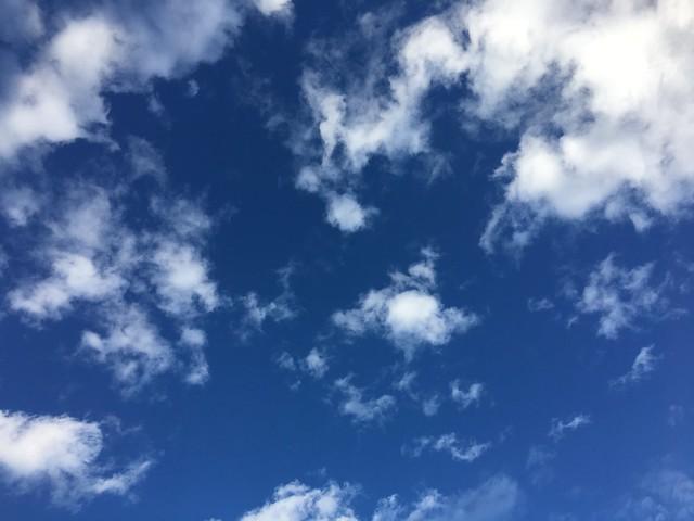 今日出門的天空