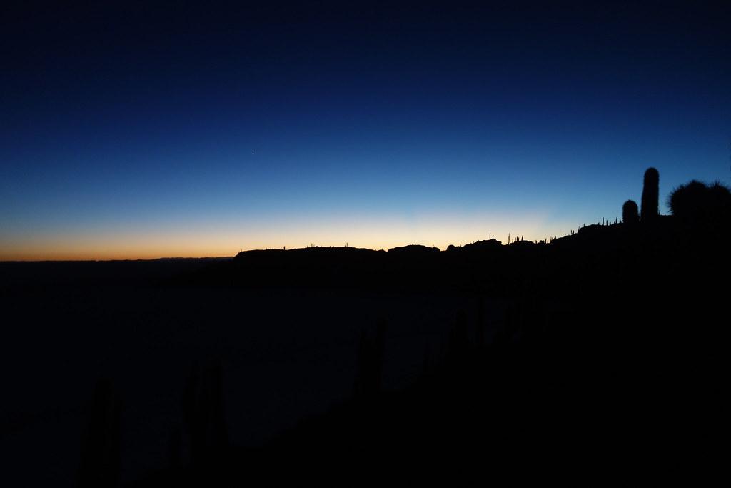 Uyuni - Isla Incahuasi - Sunrise 5
