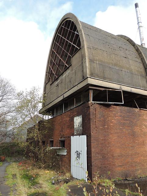 Boiler House, Former Dunlop Semtex Factory, Brynmawr 23 November 2014