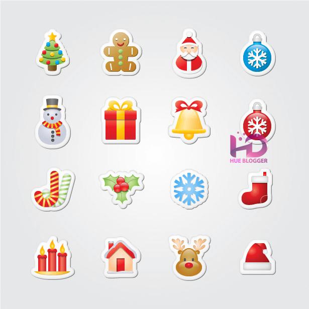 Trọn bộ Icon Giáng Sinh miễn phí dành cho Designer  Trọn bộ Icon Giáng Sinh miễn phí dành cho Designer