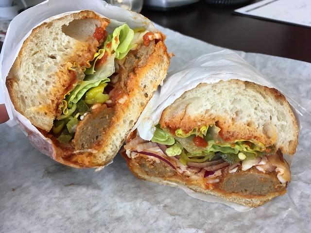 Meatball sandwich - Portico