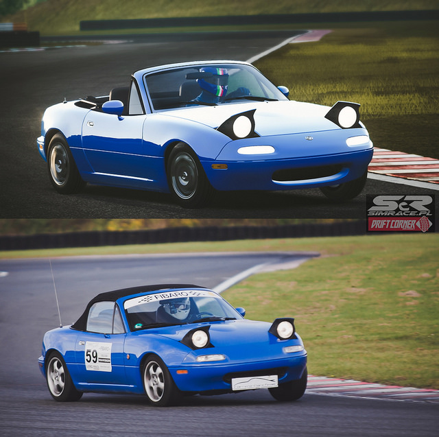 Real VS Virtual Mazda MX-5