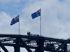Harbour Bridge climbers