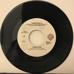 FORCE M.D.'S:TENDER LOVE(RECORD SIDE-A)
