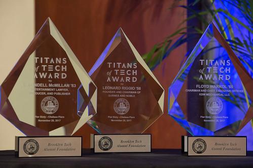 Titans of Tech Dinner, November 28, 2017