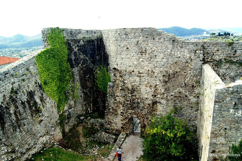Вид на Цитадель сверху