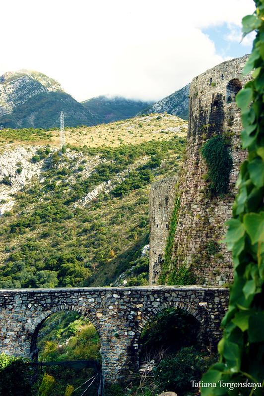 Акведук и крепость