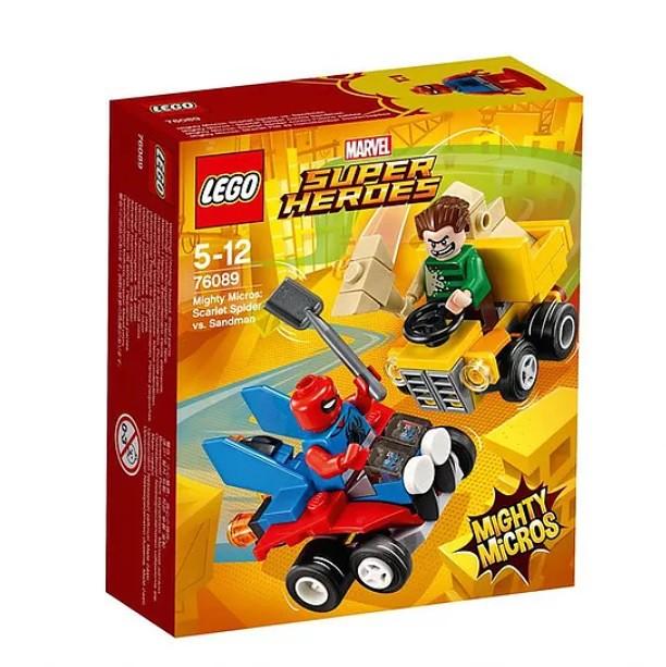 76089 Mighty Micros Scarlet Spider vs. Sandman