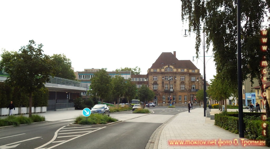 Город Швайнфурт пейзажи