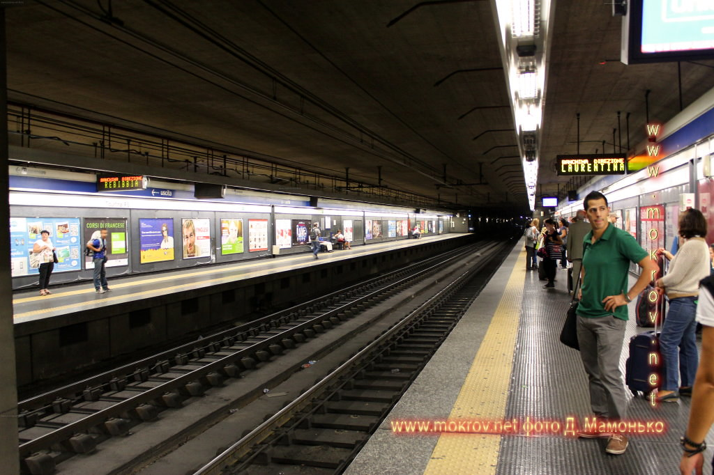 Рим — столица Италии фотозарисовки