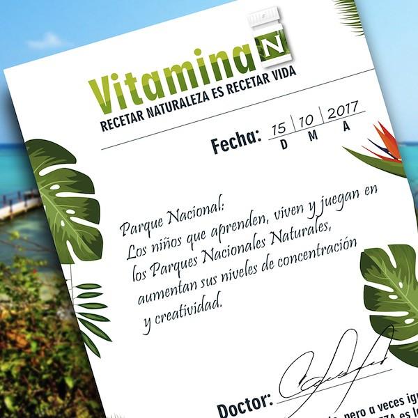 Prescripción de la Vitamina N 02