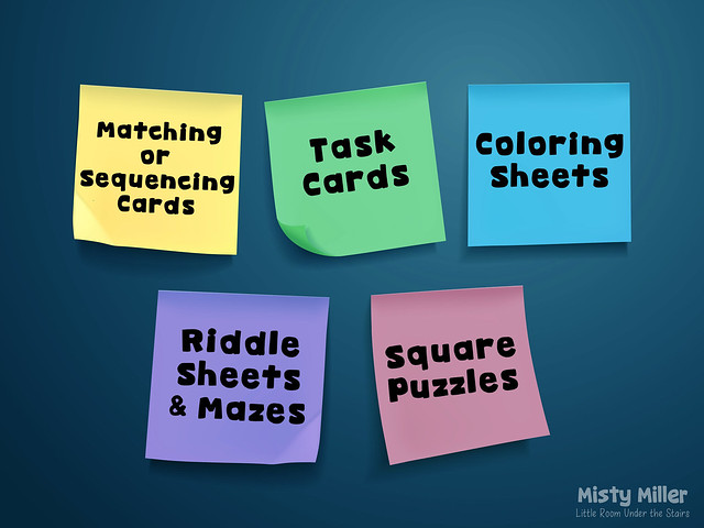 after tests: things for early finishers to do after a test