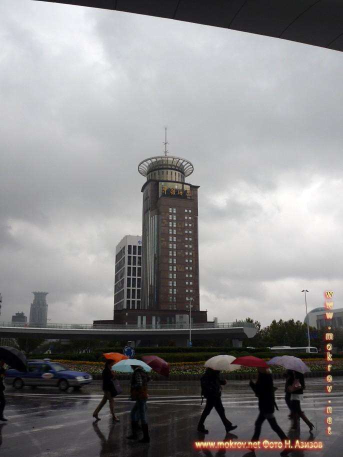 Исторический центр Шанхая в Китае пейзажи