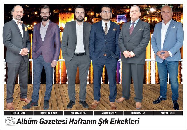 Bülent Erkol, Harun Aytemur, Mustafa Demir, Hakan Sönmez, Dündar Atay, Yüksel Erkol