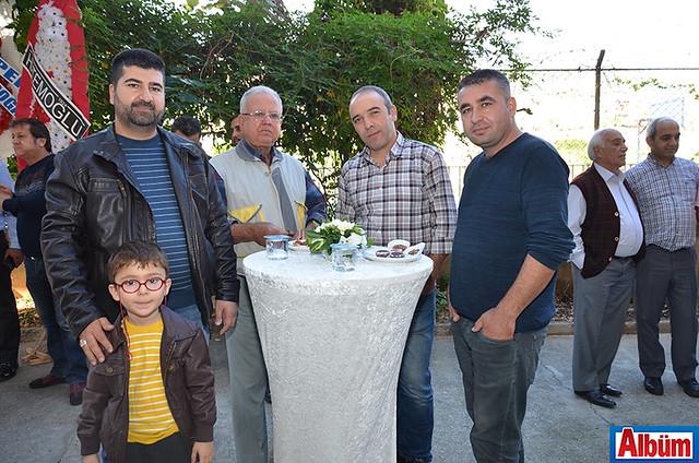 Serkan Uylar, Mustafa Özdemir, Cemil Arslan, Samet Küçükkılınç