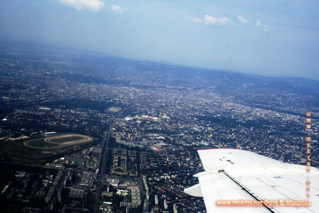 Будапе́шт с высоты птичьего полета.