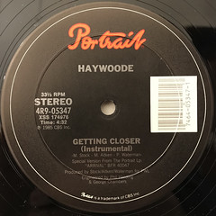 HAYWOODE:GETTING CLOSER(LABEL SIDE-B)